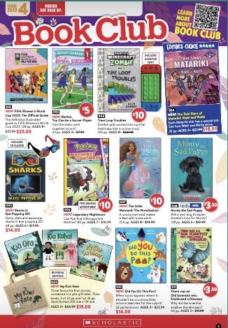 Scholastic Book Club Catalogue